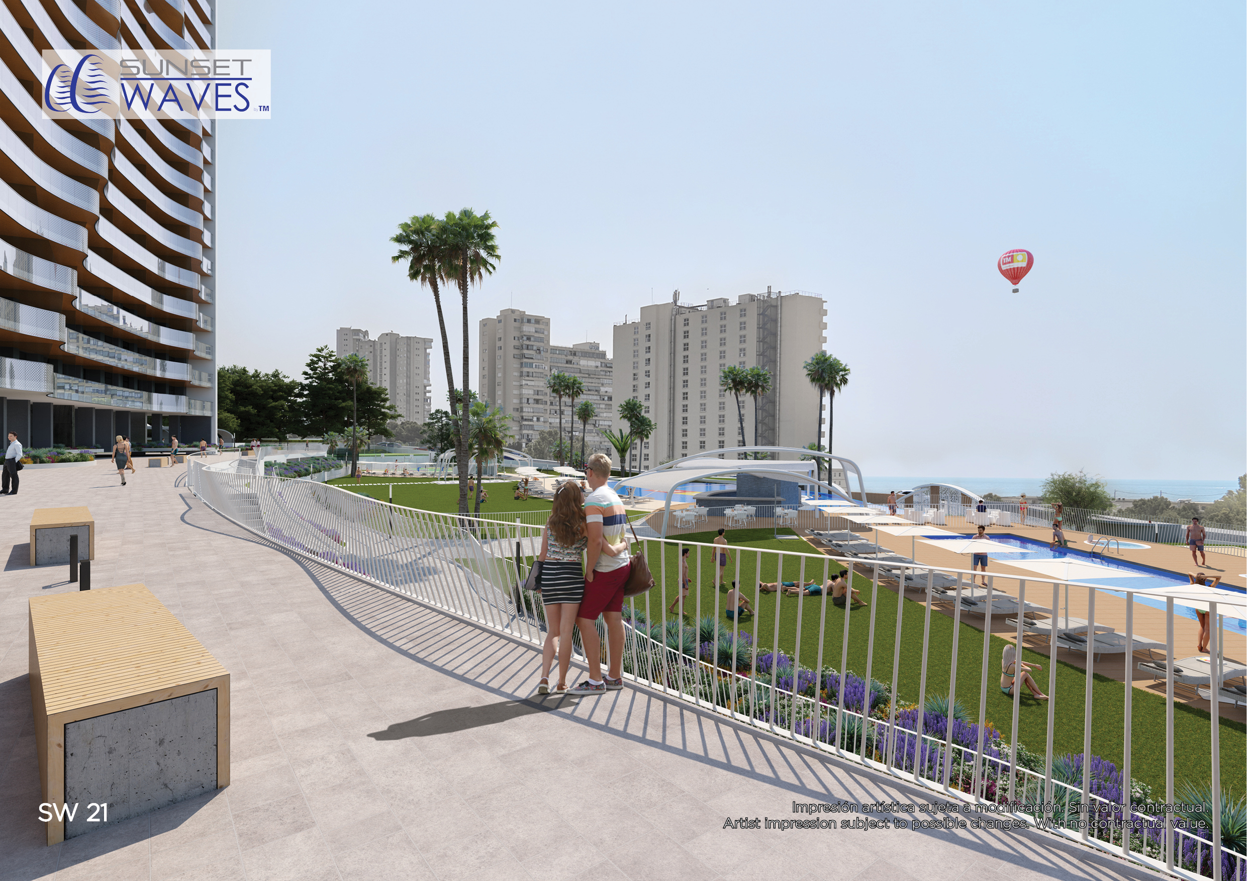 RESIDENCIAL SUNSET WAVES, BENIDORM